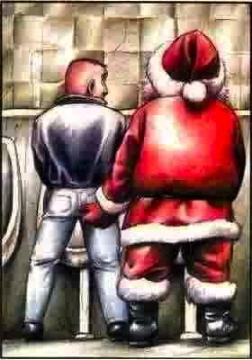 Santa claus gay sex