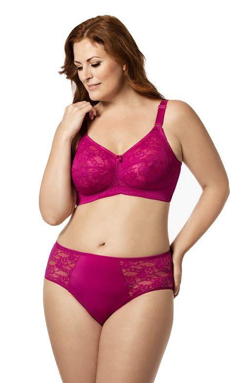 Women s full figure satin bras
