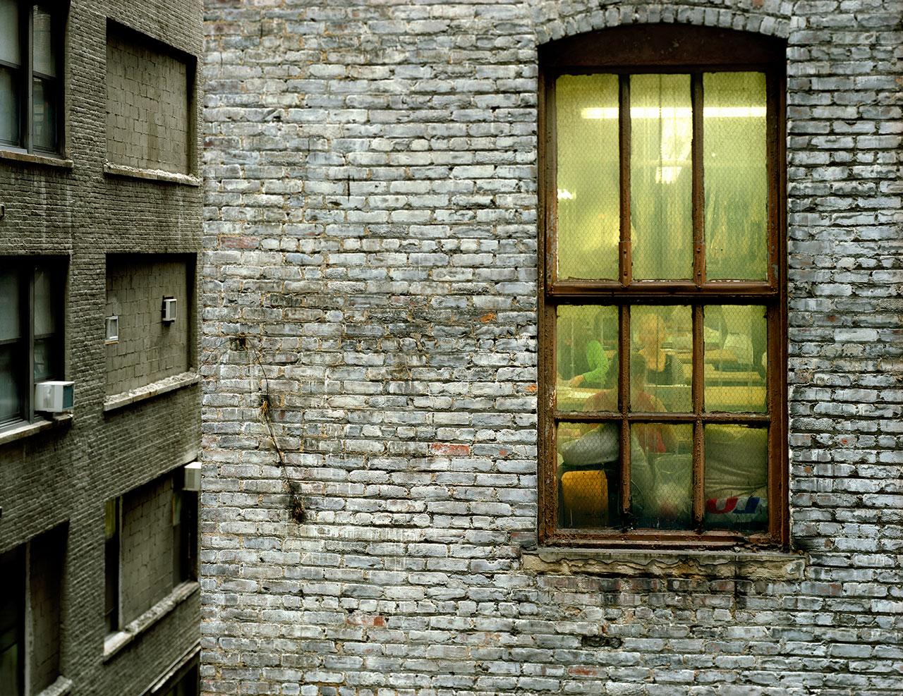 Seen neighbor through the window