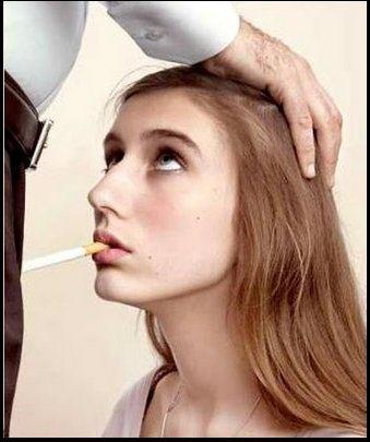 women smoking cigarettes Hot