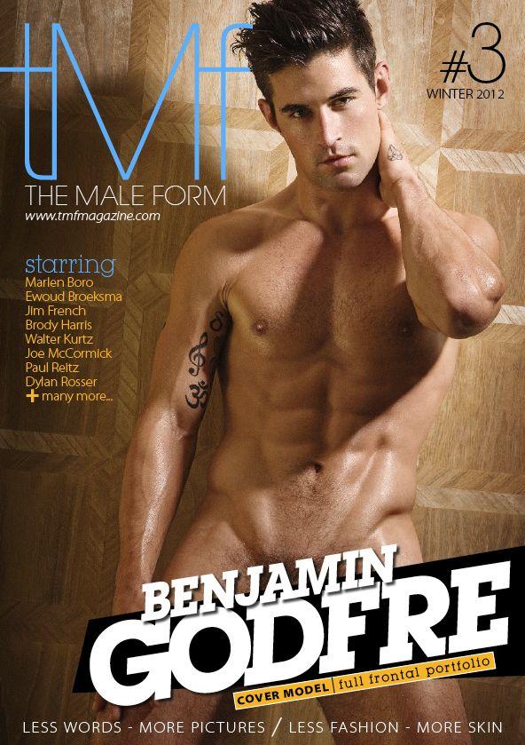 models frontal Tmf magazine male