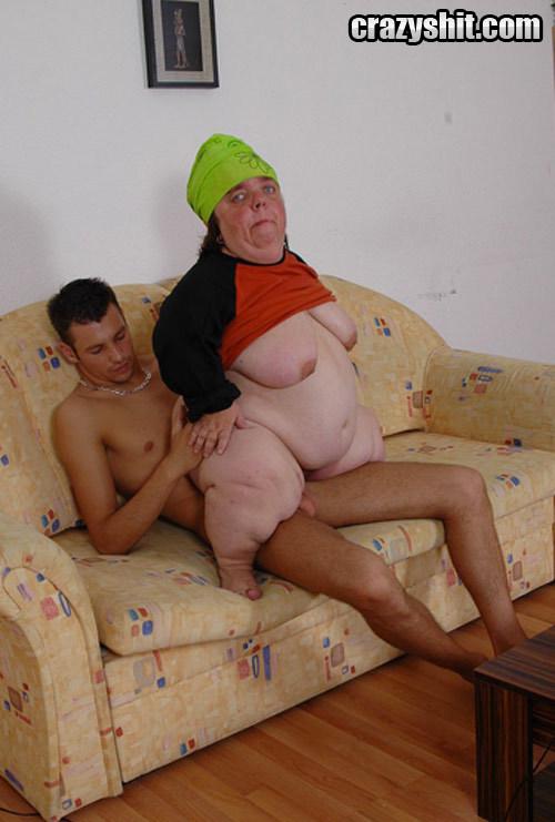 Fat ugly naked midget