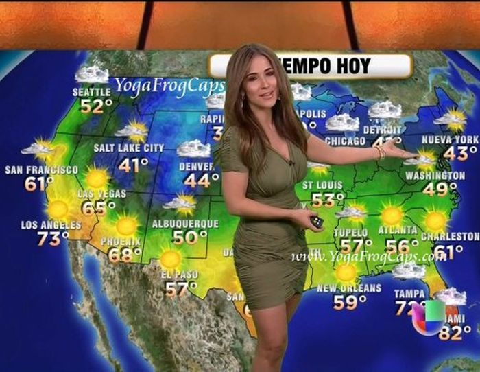 Hot weather girl jackie guerrido