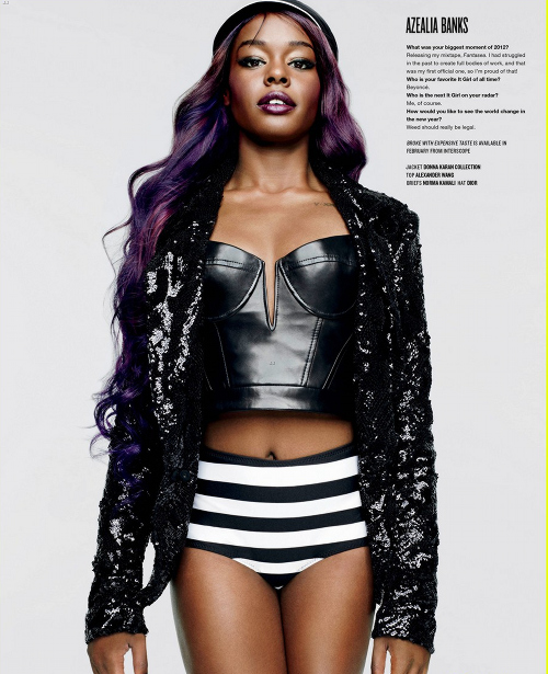Cassie v magazine