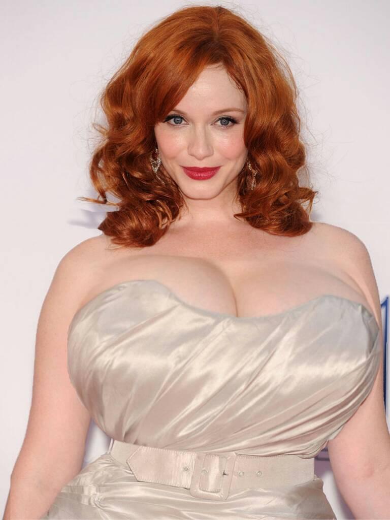 Busty redhead bbw