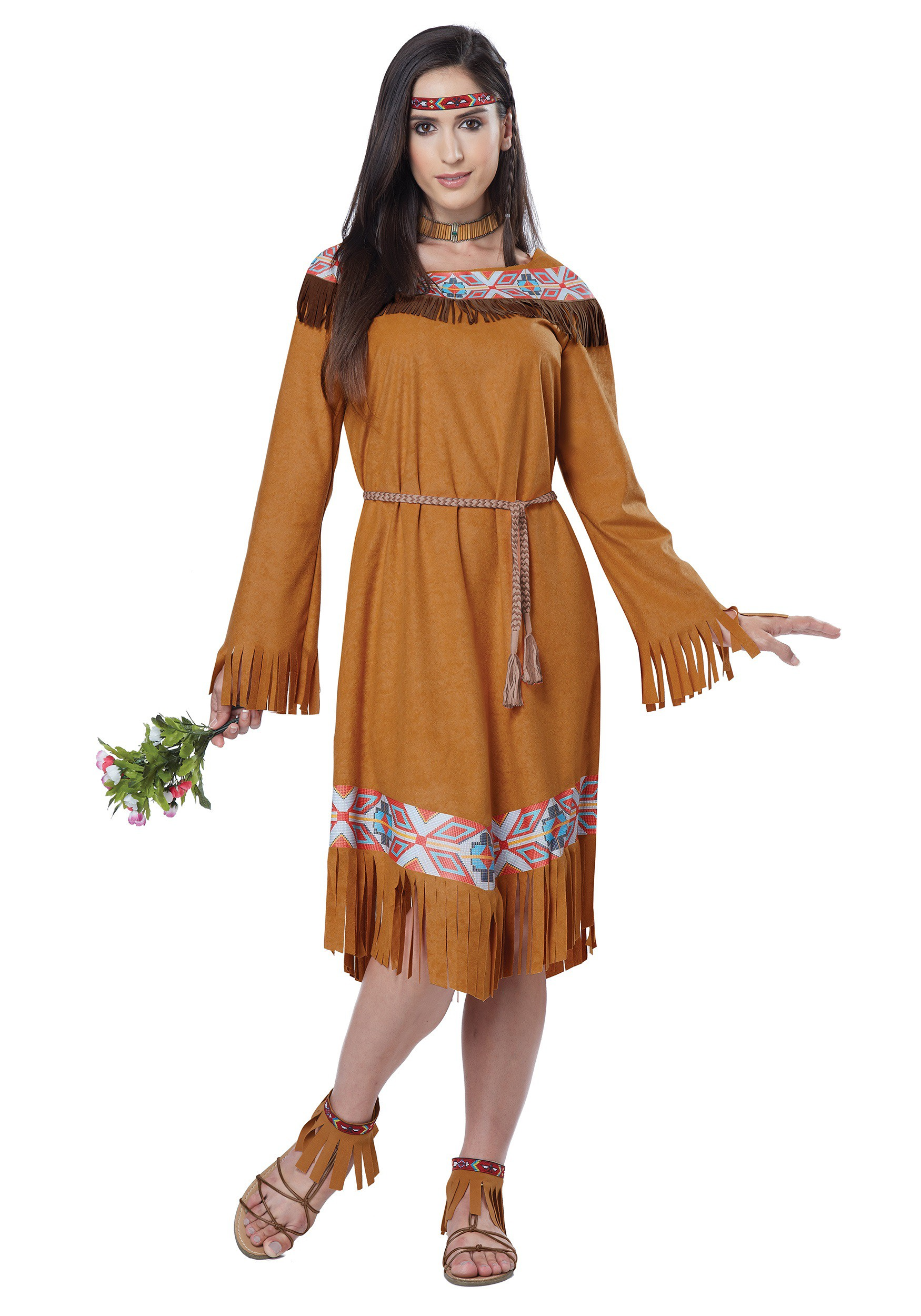 costume maiden Native american