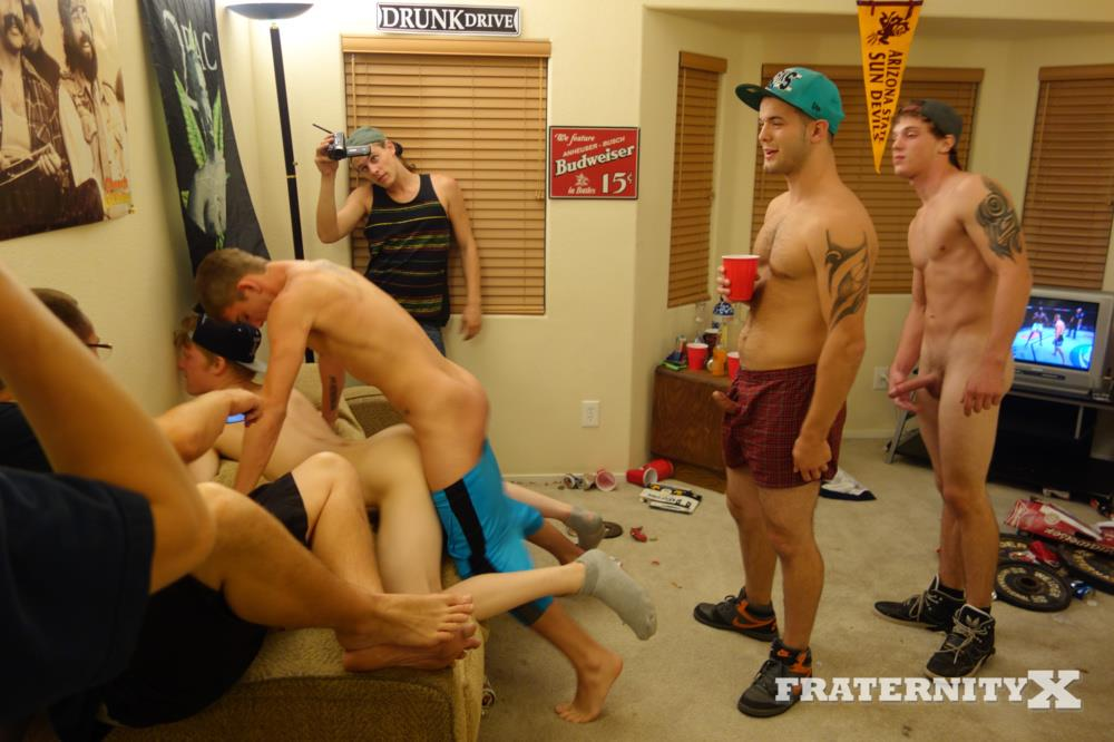 Straight college guys gay sex