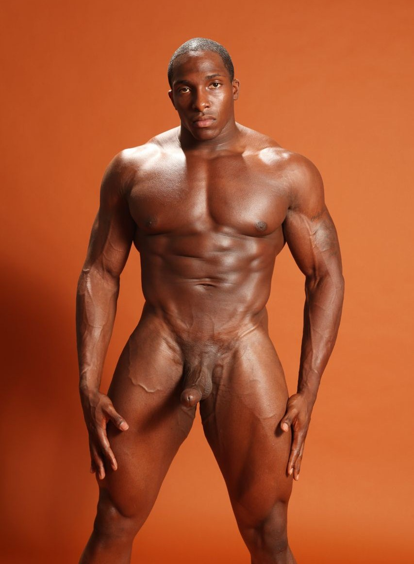 Muscular big black cocks