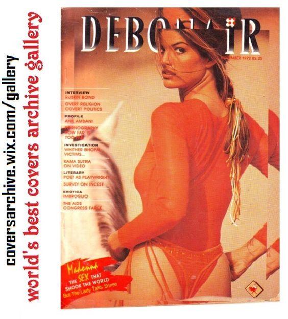 debonair magazine models Indian
