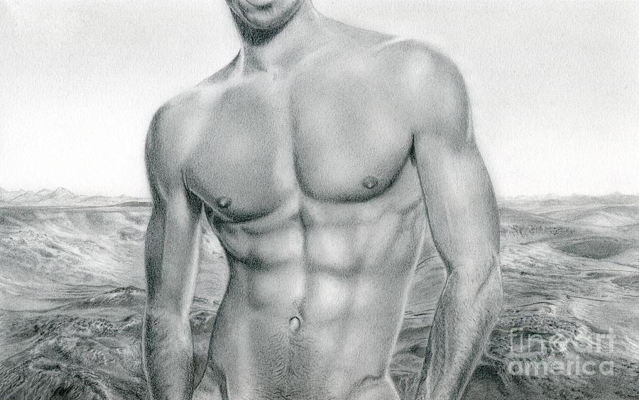 Nude male drawings