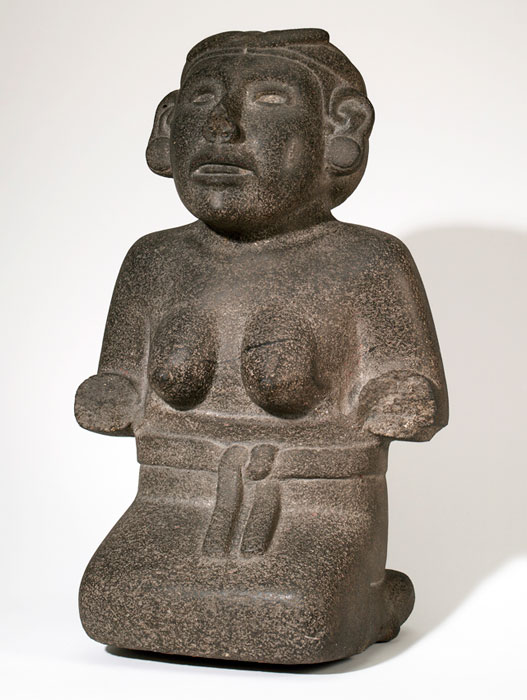 Aztec mexican woman nude