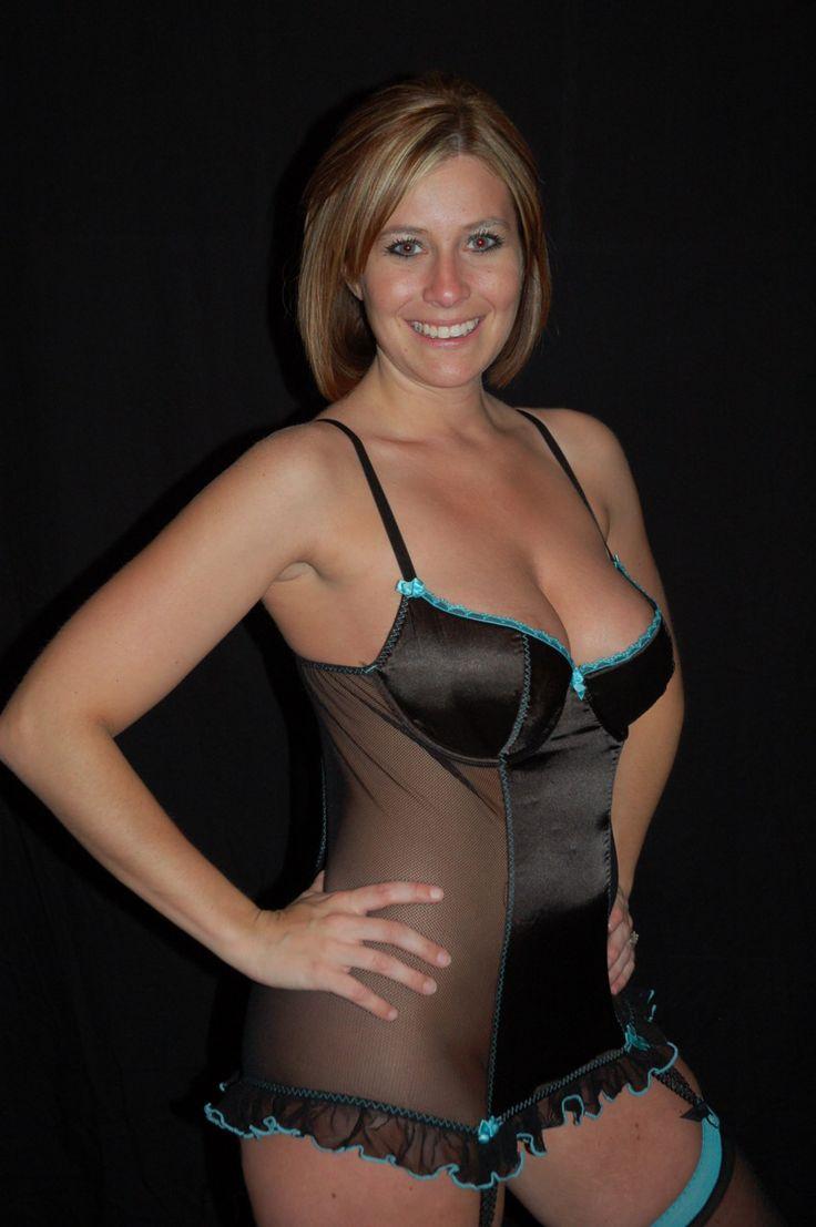 Milf lingerie amateur wife