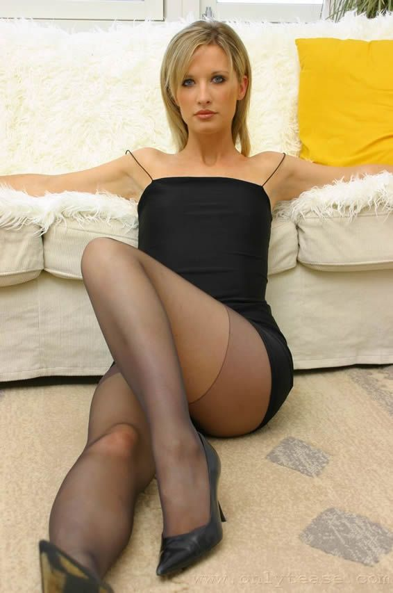 Stockings young public