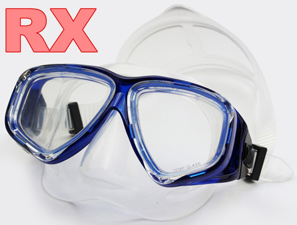 Snorkel mask sets prescription