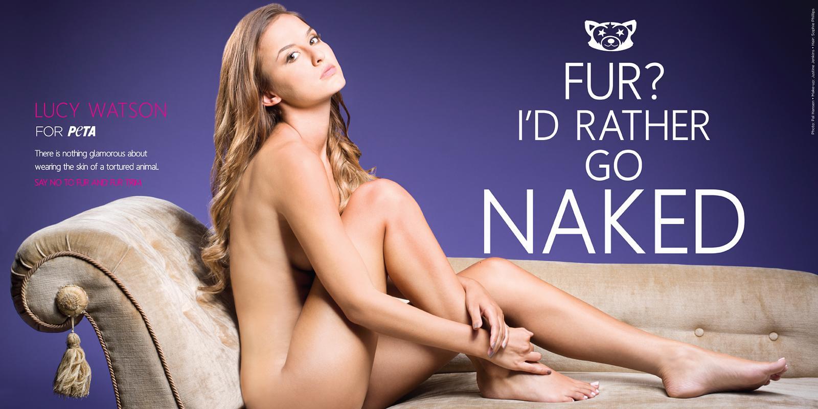 Latest celebrity to go nude