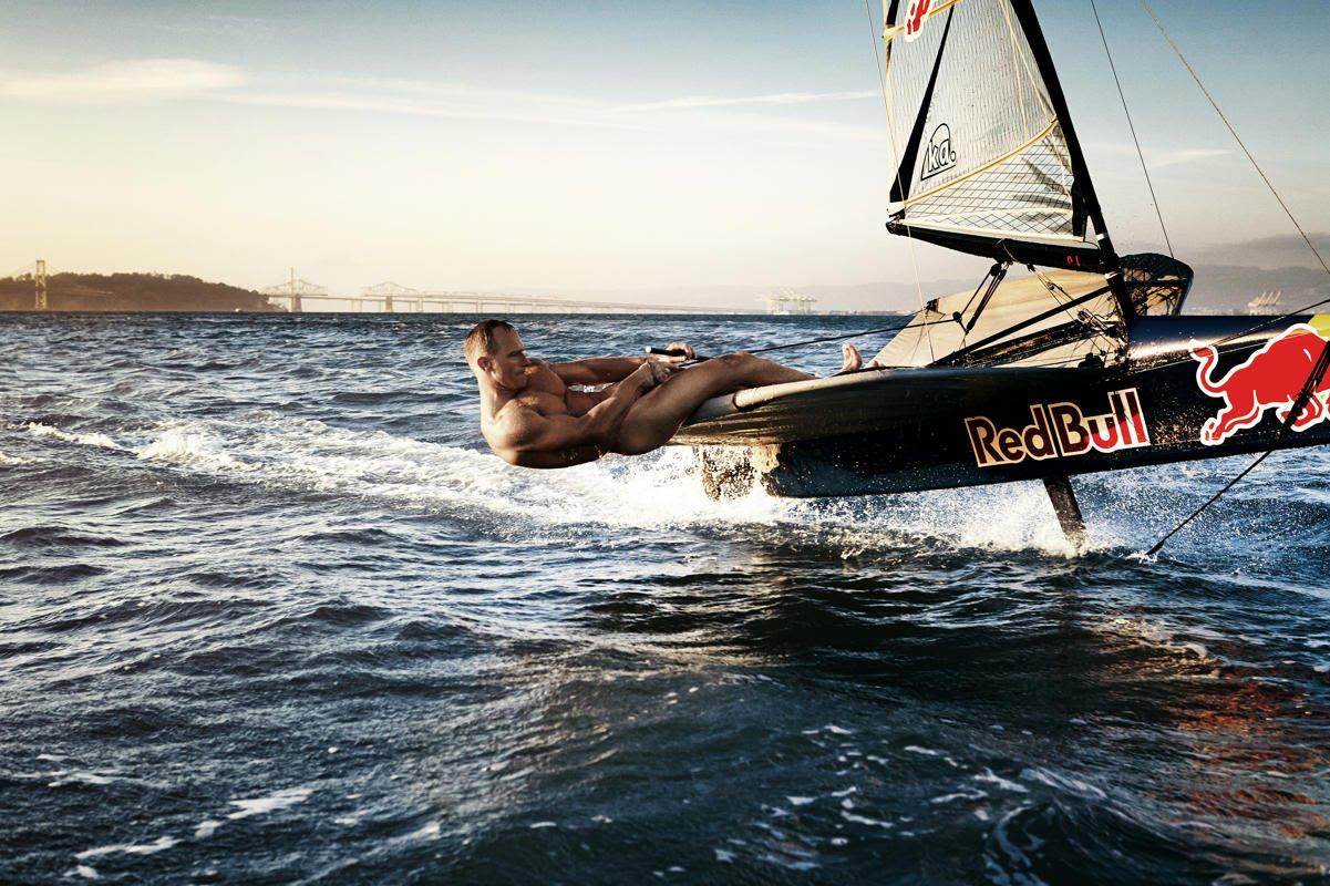 girl boat Nude sailing