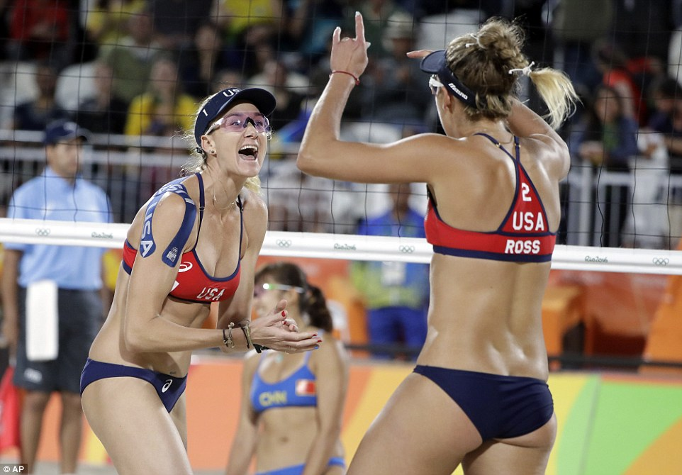 Volleyball big ass girls