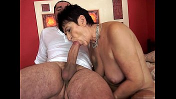 sucking dick granny Asian