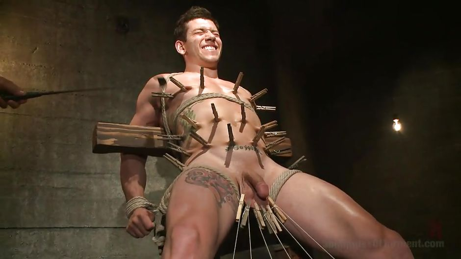 Gay male sex torture