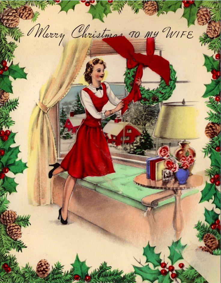 Christmas homemade mature wife