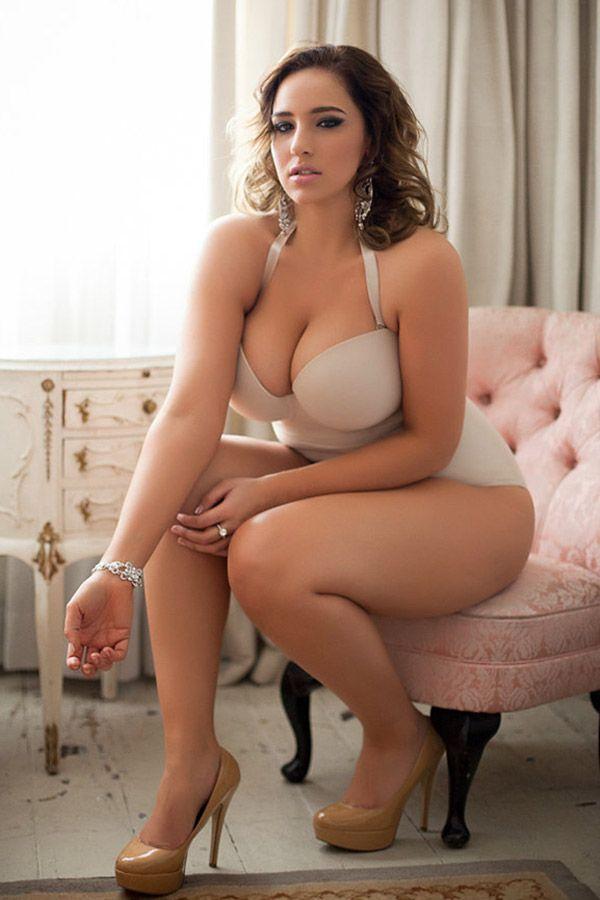 Beautiful amateur curvy women