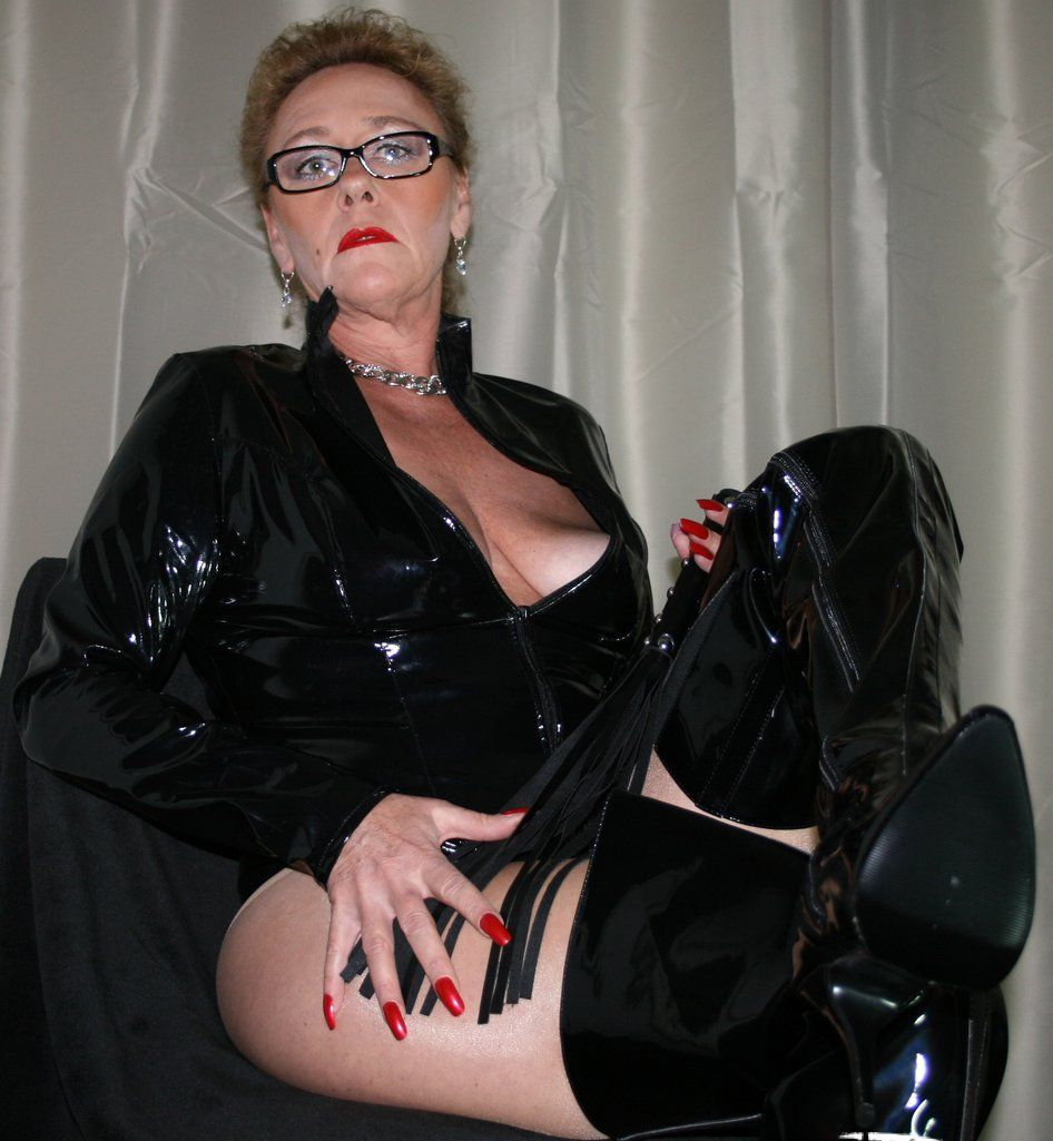 Strict high heel matures