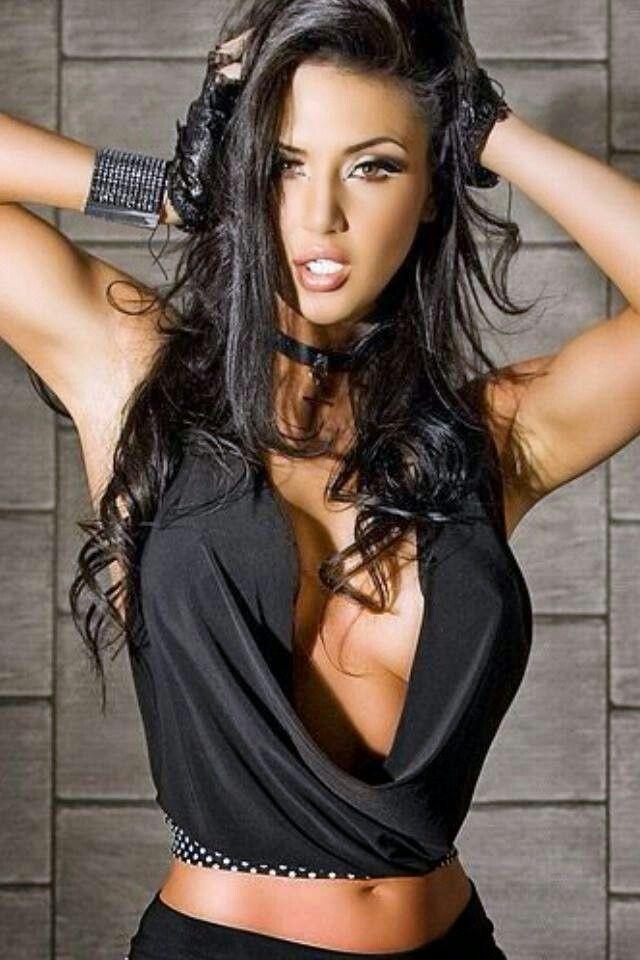 Hot sexy brunette