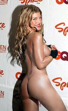 Fergie in bikini and nude photos
