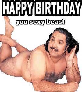 Happy birthday sexy man