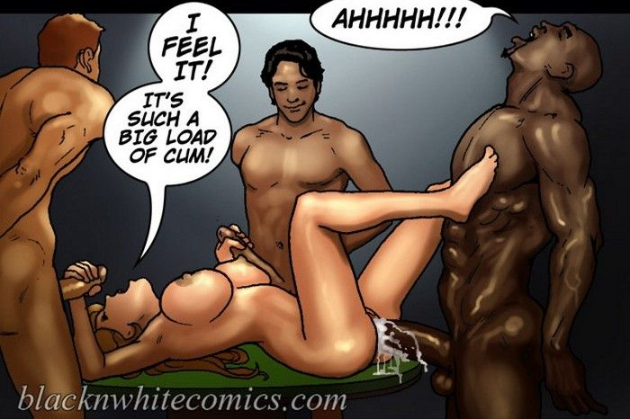 Black girl cartoon porn comics