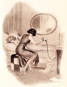 Girls getting erotic enemas