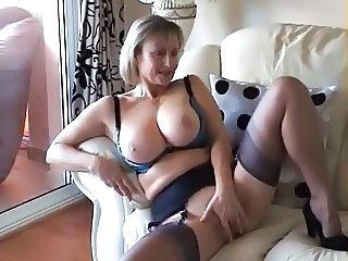 British mature stockings