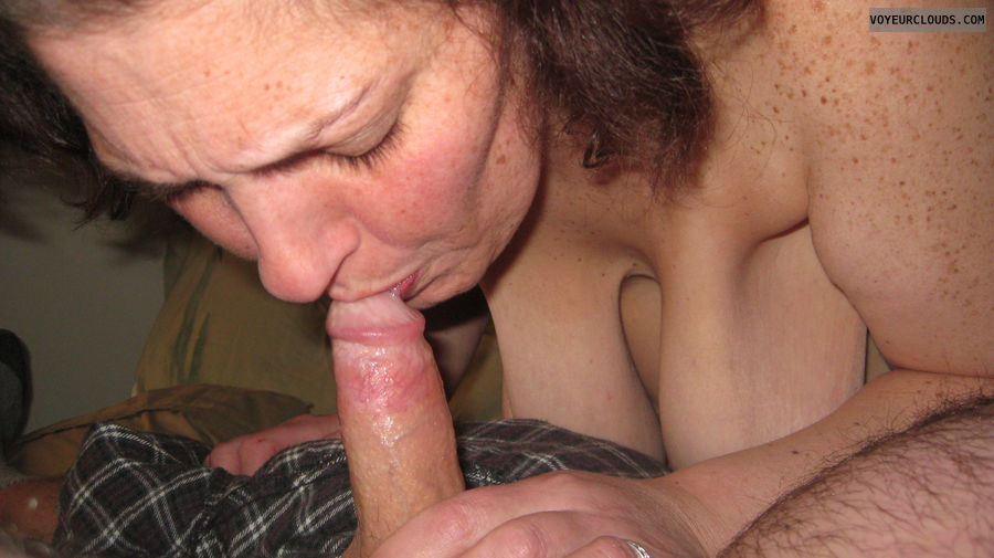 oral sex with woman using estring