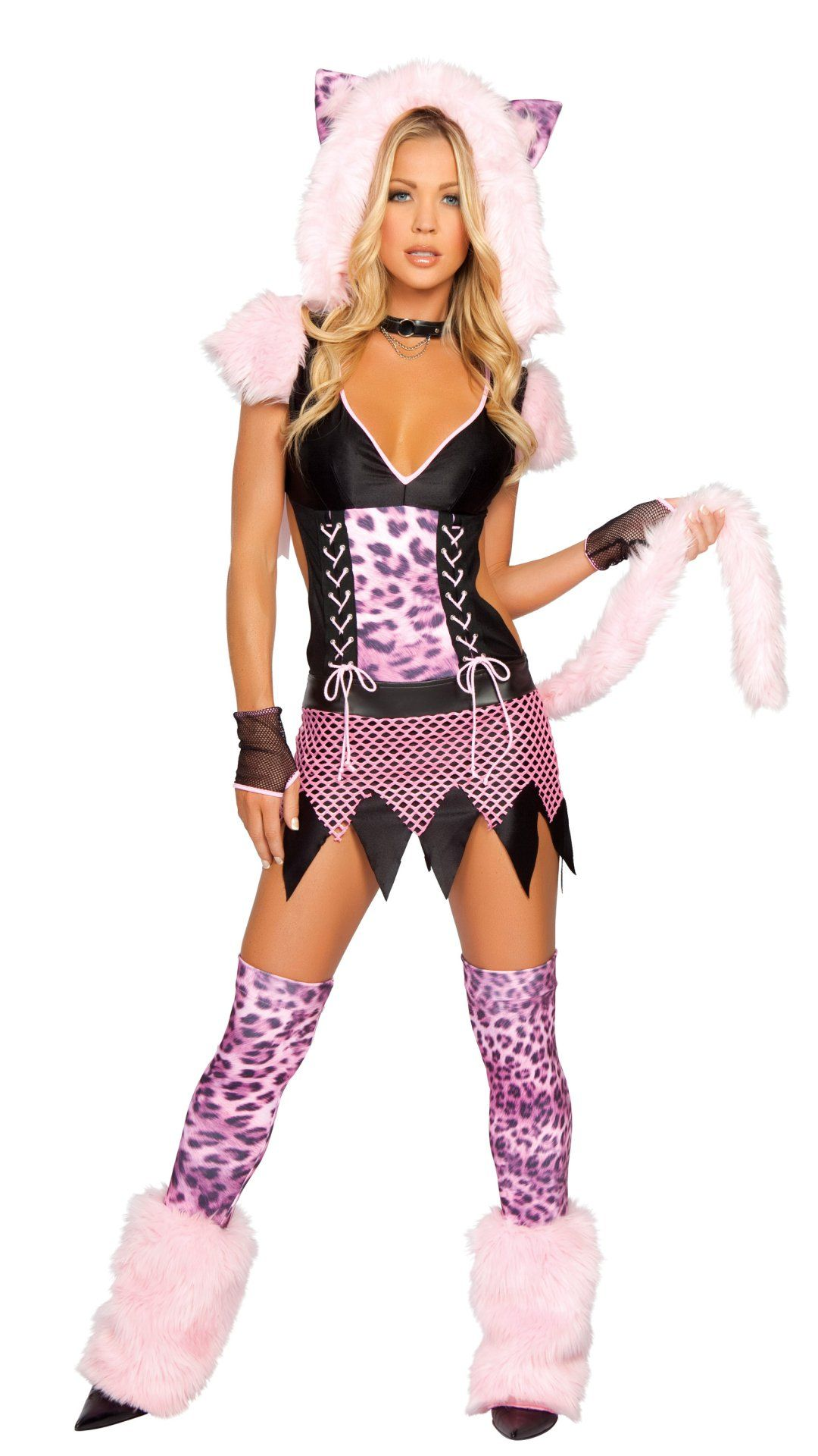 Sexy girl halloween costume pussy