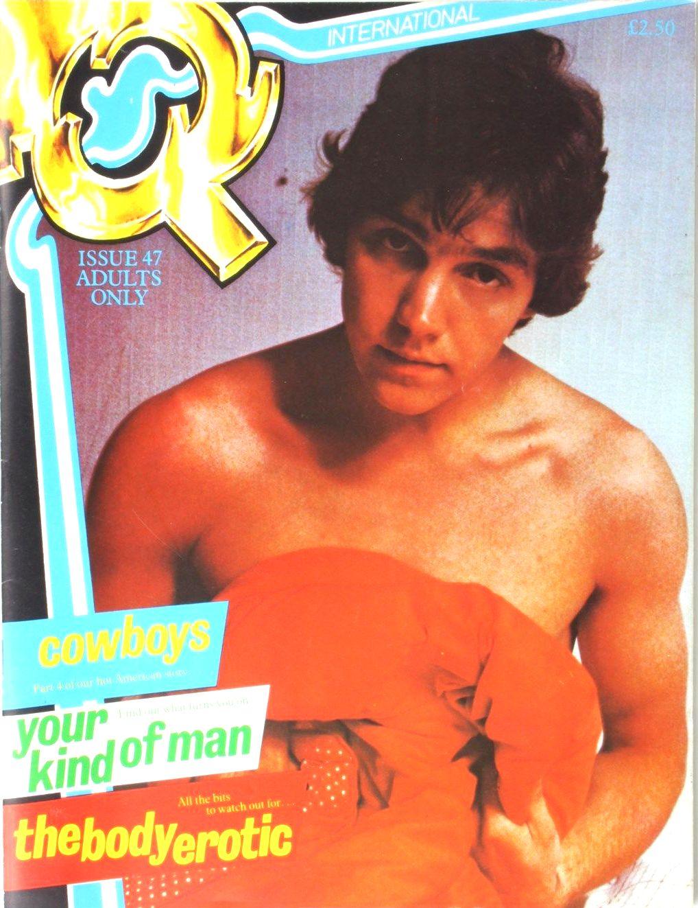 Gay vintage porn magazines