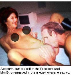 w porn George and laura bush