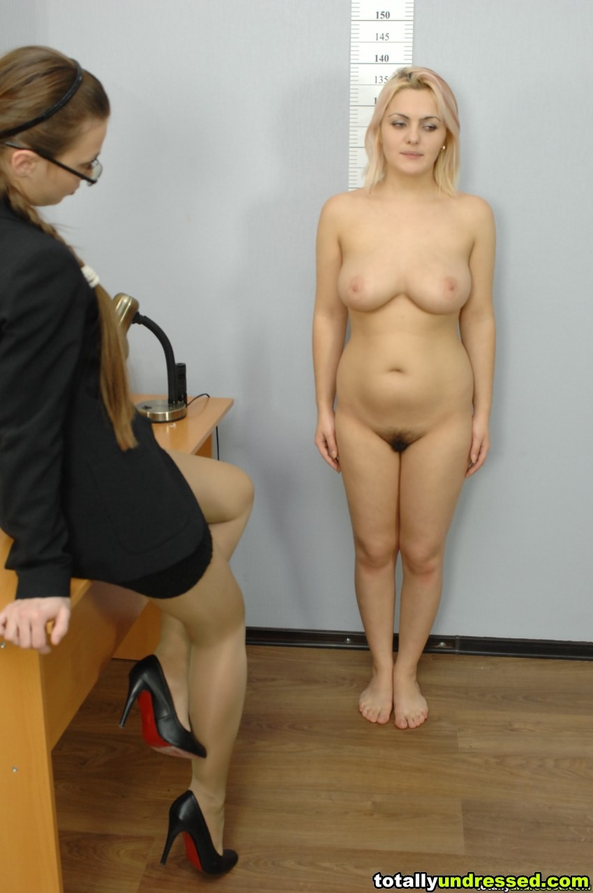 Nude job interview forced