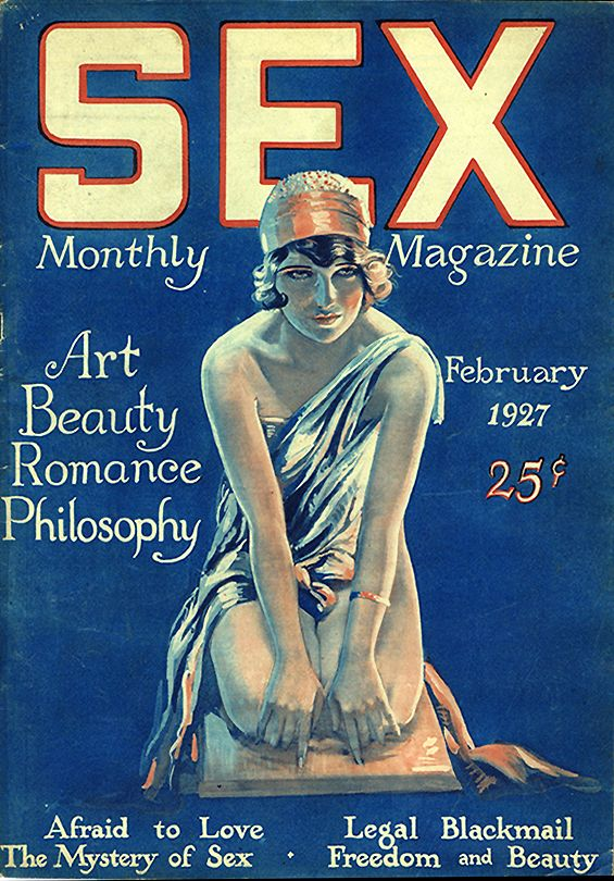 Vintage sex magazine covers