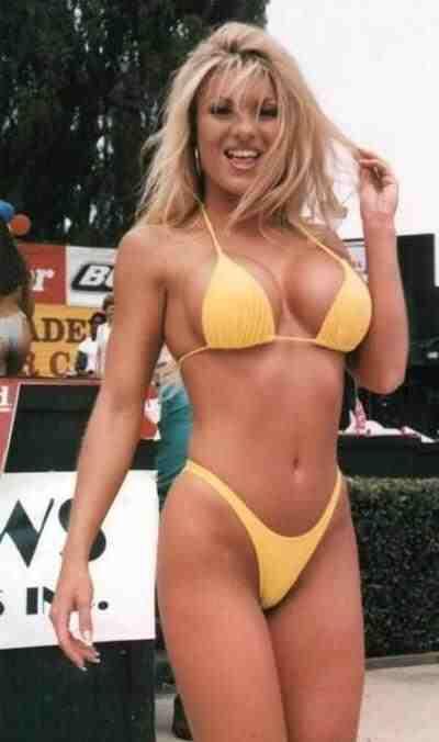 Tylene buck milf micro string bikini