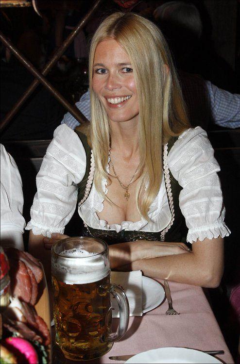 Oktoberfest beer girl nude