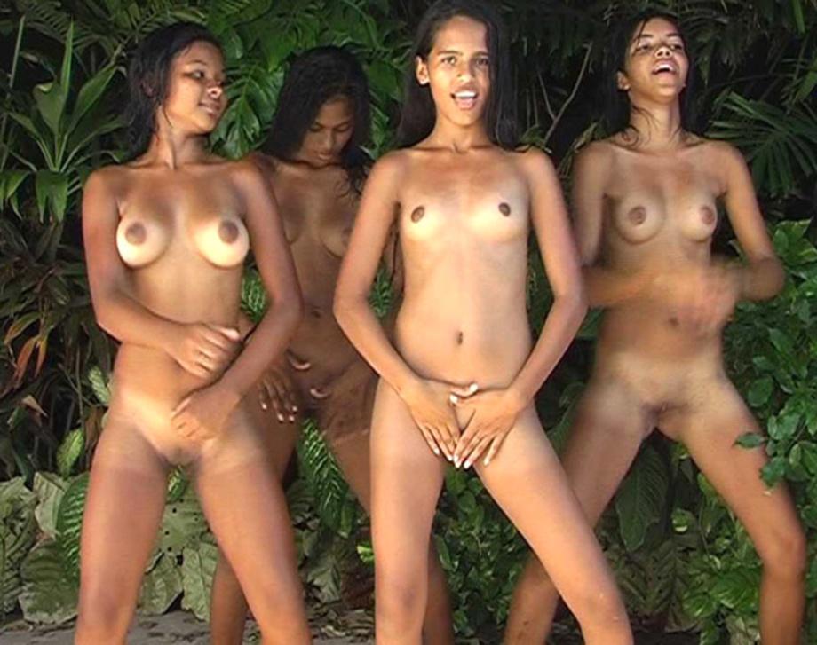 Nude jungle girls brazil