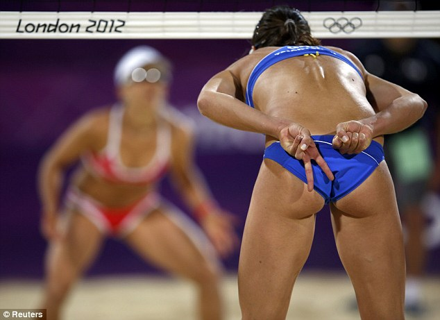 volleyball beach olympic Naked women