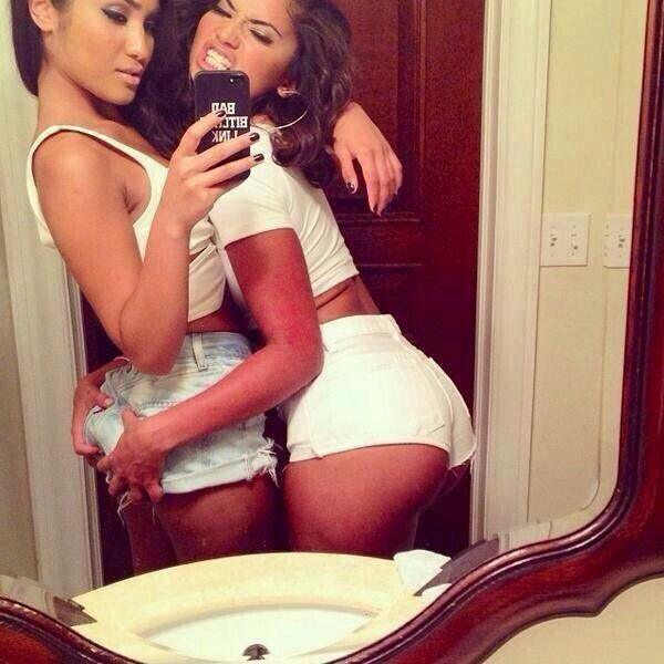 Sexy friend selfies