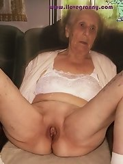 Very old granny pussy porn