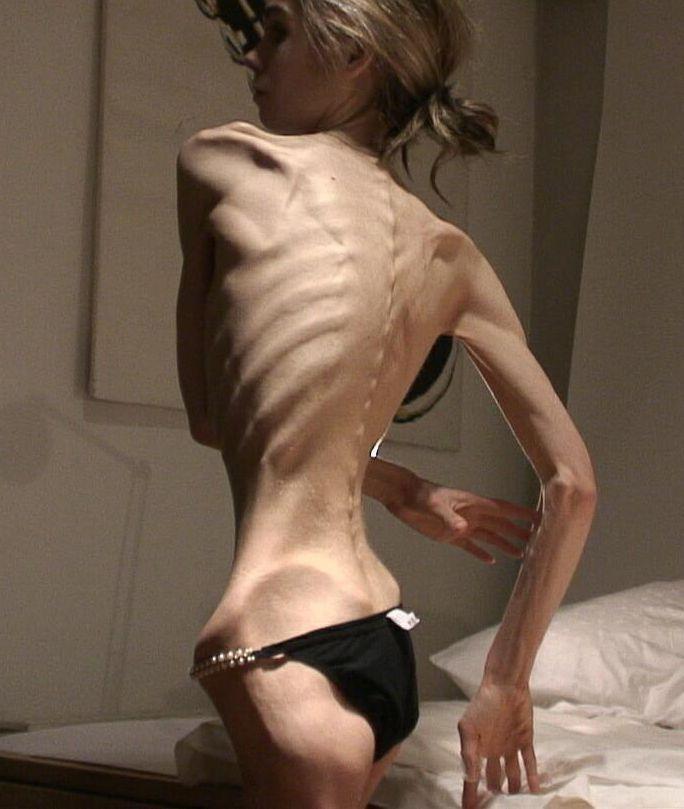 Very skinny latina