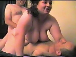 Big tit amateur wife threesome