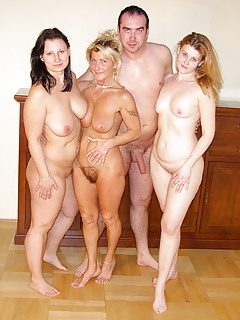 Amateur mom group sex