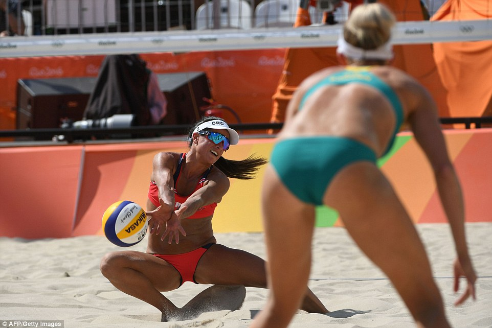 Naked olympic women beach volleyball