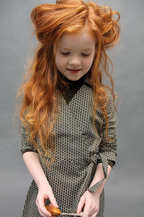 girl Young teen solo redhead