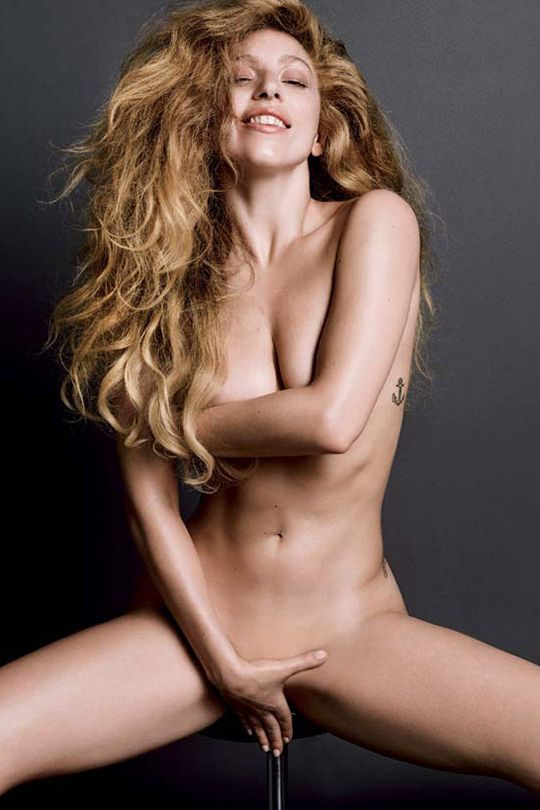 magazine Lady gaga nude